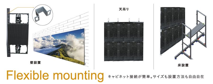 Uslimフレキシブルなサイズと設置方法