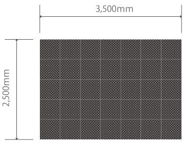 H2.5m×W3.5mビジョン