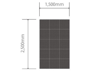 H2.5m×W1.5mビジョン