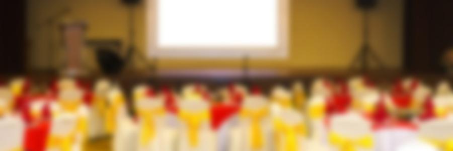 LEDビジョンが披露宴会場に登場! かりゆしアーバンリゾート・ナハ