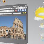 集客効果抜群、透過ディスプレイ型デジタルサイネージ