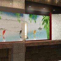 ダイワロイヤルホテルグランデ京都に設置されたデジタルサイネージ