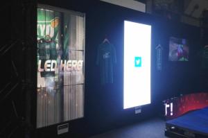 透明LEDビジョン事例03